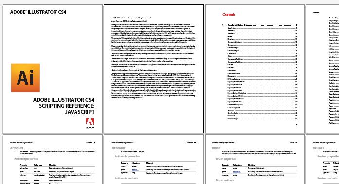 Open multipage PDF | Ai Scripts