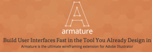 Armature wireframing tool Illustrator
