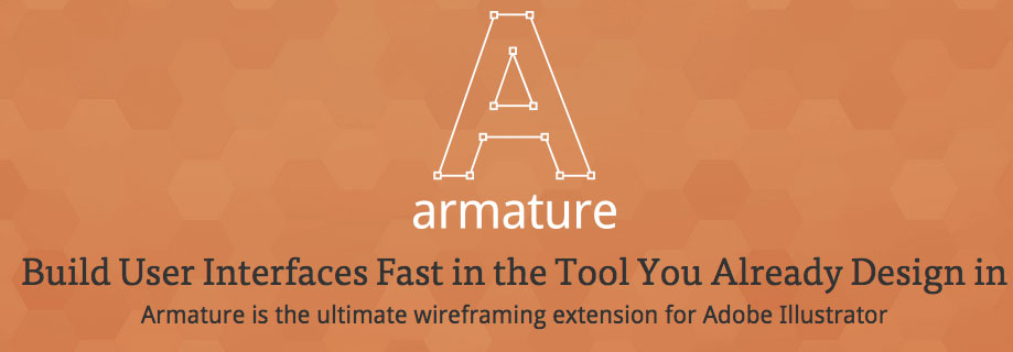 Armature: Drag-N-Drop Wireframing Tool for Illustrator