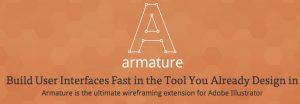 Armature wireframing tool Illustrator